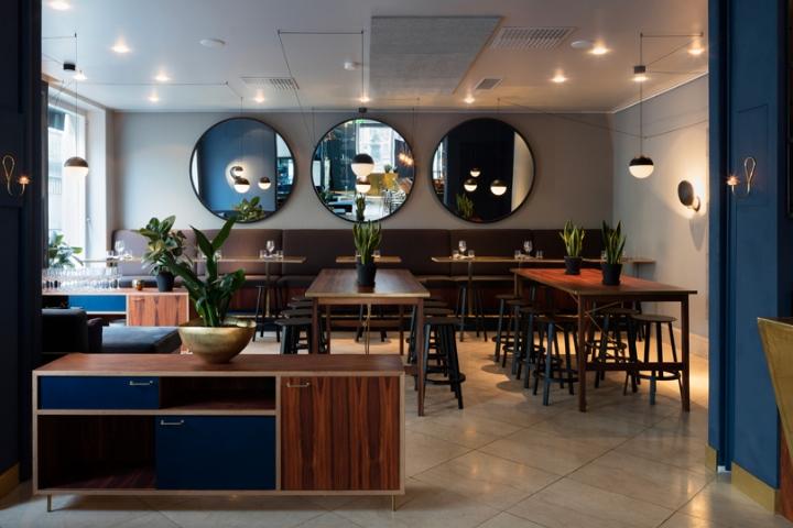 Roster bar and restaurant by bond agency helsinki