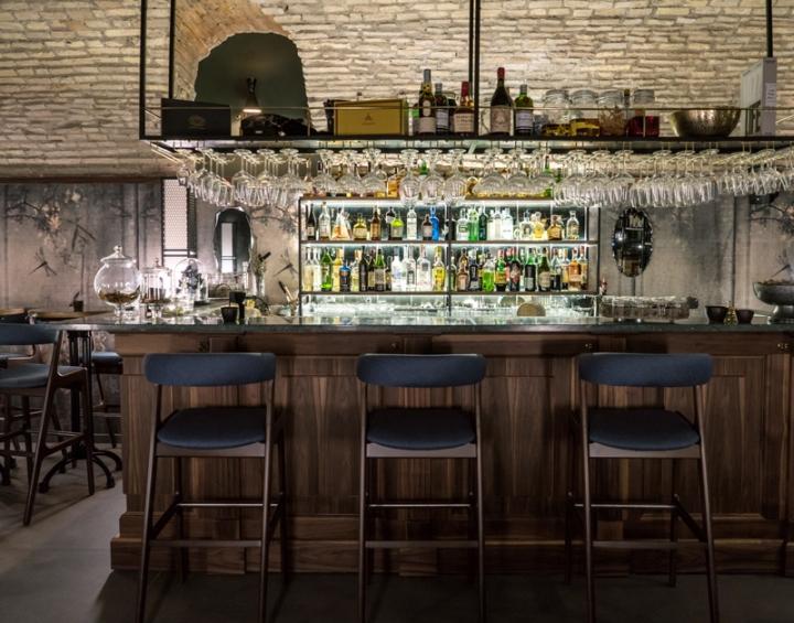 Stilelibero restaurant by tommaso guerra roma italy for Roma interior design