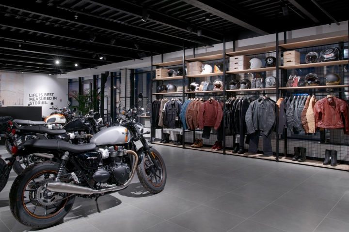 Triumph Motorcycle Store By Alex Feskov Moscow Russia