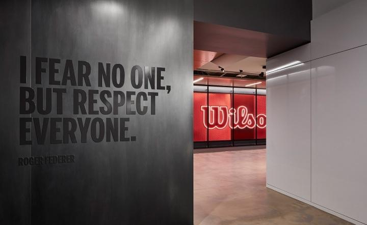 187 Wilson Sporting Goods Office By Gensler Chicago Illinois
