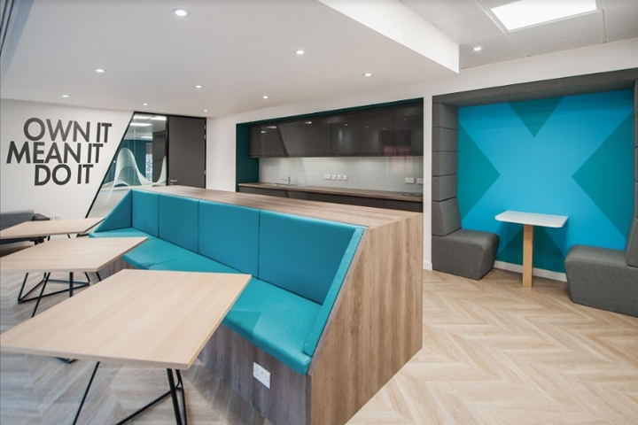 it office design. We Designed A Space For XMOS That Hits On The Future Of Technology, To Show Off Their Voice Activation Hardware And Bring This Technology Life It Office Design