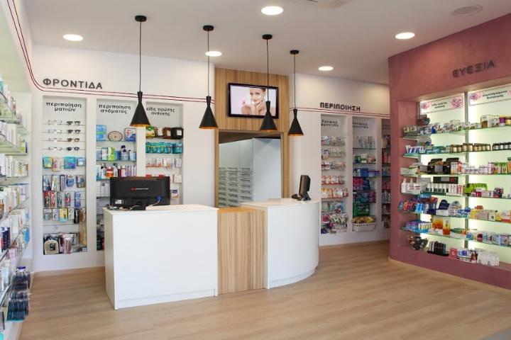 zoi borsinou pharmacy design by lefteris tsikandilakis lefkada greece