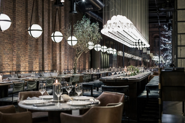 187 Catch Fish Restaurant By Yodezeen Studio Kiev Ukraine