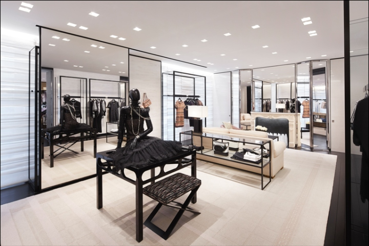 187 Chanel Boutique By Peter Marino Amsterdam Netherlands