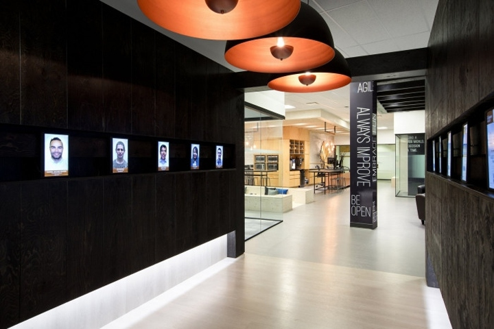 Ssdg Interiors Designed The Offices For Investment Planning Company Copperleaf Technologies Located In Vancouver Canada