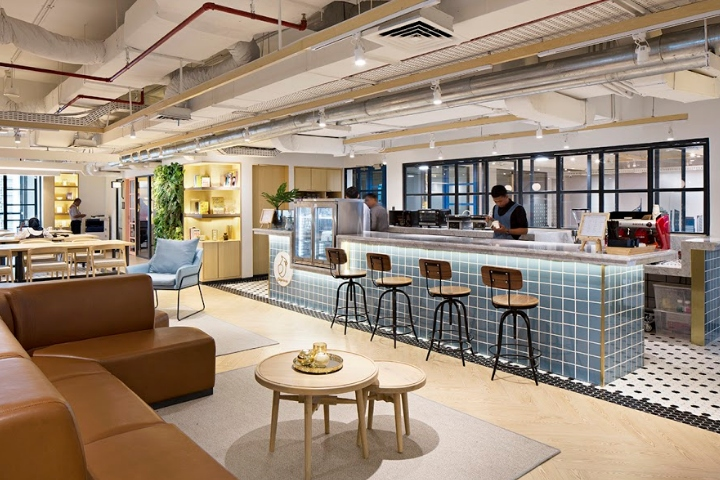 Gowork coworking and office space by metaphor interior - Interior design office space ...