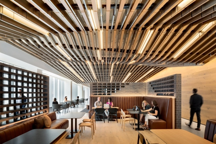 Gensler Has Designed The New Headquarters For Hospitality Giant Hyatt Located In Chicago Illinois Genslers And San Francisco Teams Came Together