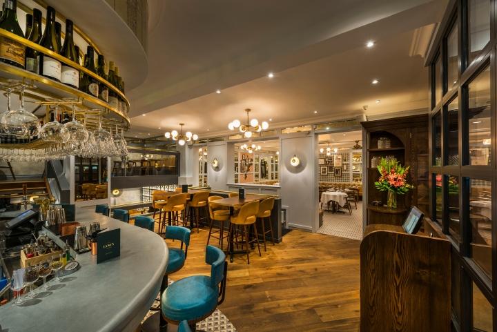 Lasan restaurant by faber design architecture