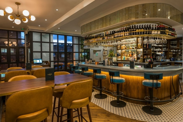 A New Customer Focussed Layout Includes Relocation Of The Bar Area, Which  Was Originally In The Main Dining Room. Now A Dramatic U Shape With  Eye Catching ...