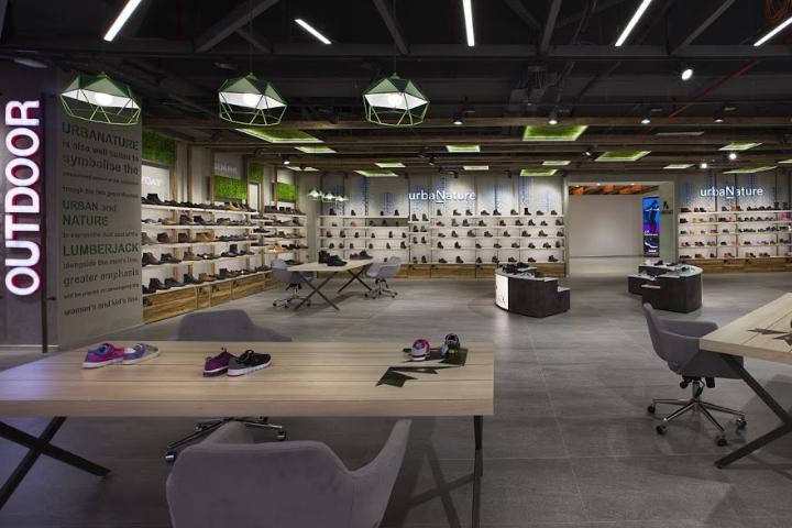 土耳其伊斯坦布尔Lumberjack鞋店设计