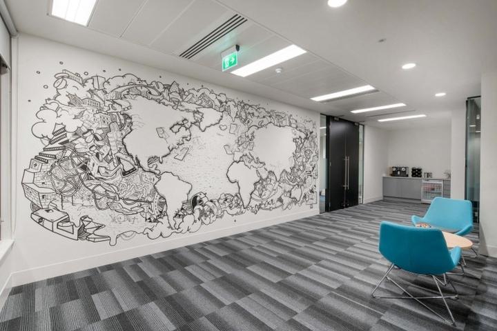 nexus underwriting offices by peldon rose london uk