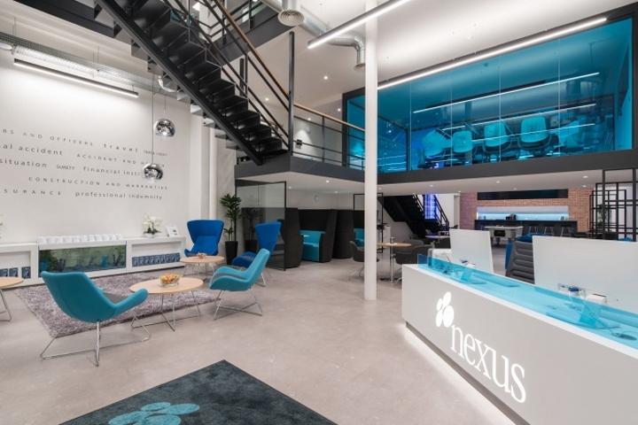 英国伦敦Nexus办公室设计
