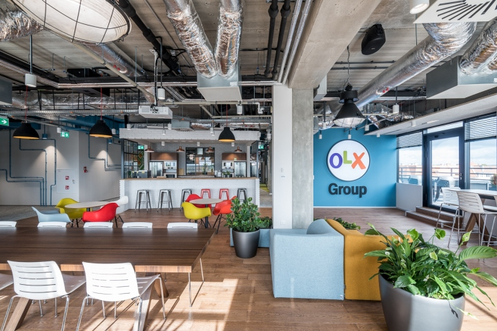 OLX Group offices by Pixers Business, Poznań – Poland