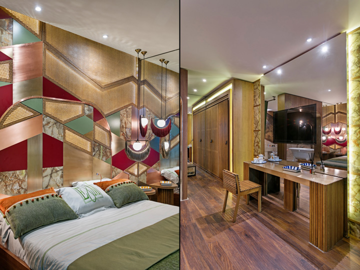Retro Hotel Room at Hotel Design Show Exhibition by Project 15 12