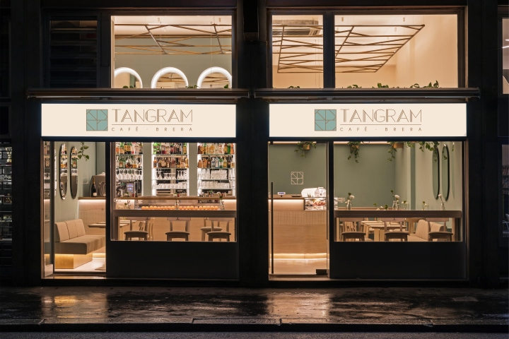 1d7ffe3694f » Tangram Cafè by Correa Granados Architects