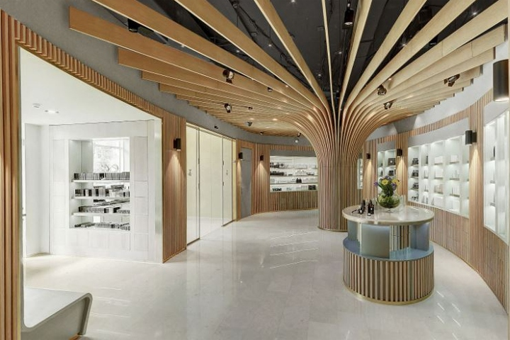 Telli bio boutique by arrow architects almaty for Office design kazakhstan
