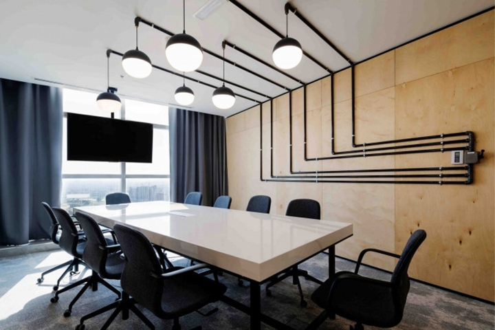 Swiss bureau interior design completed the office design for iflix subscription video on demand service focused on emerging markets located in dubai