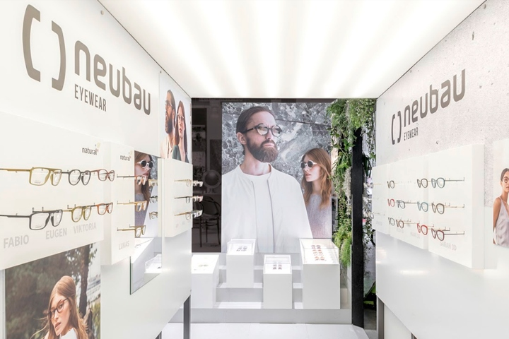 Exhibition Stand Attractors : Neubau booth at mido eyewear show by dfrost milan u2013 italy
