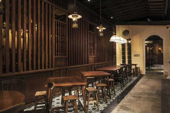 La Machina Cafe Atmosphere