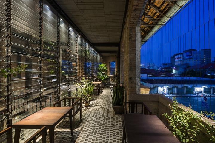 BEN THANH Restaurant by NISHIZAWAARCHITECTS, Ho Chi Minh