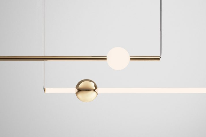 Wall light retail design blog eclipse is available as a chandelier table and wall lamp all feature polished stainless steel and acrylic mozeypictures Image collections