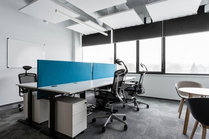 the design office. Designer: The Design Group Photography: Katarzyna Seliga-Wróblewska Office