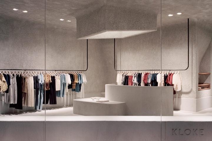 澳大利亚墨尔本Kloke服饰店设计