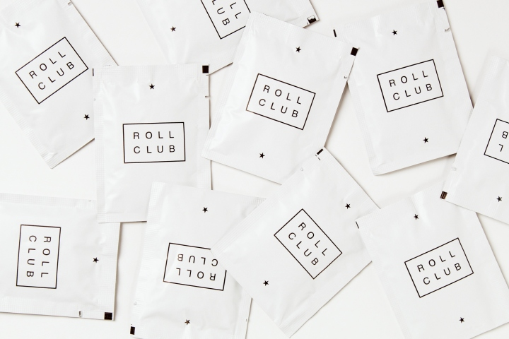 Roll club food delivery service identity by canape for Canape orientale