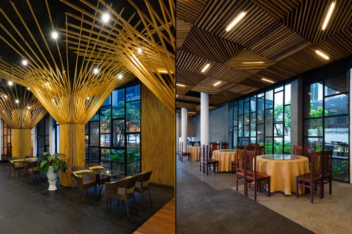 Sai gon thuong mai hotel by h2 arch vinh vietnam for Design hotel vietnam