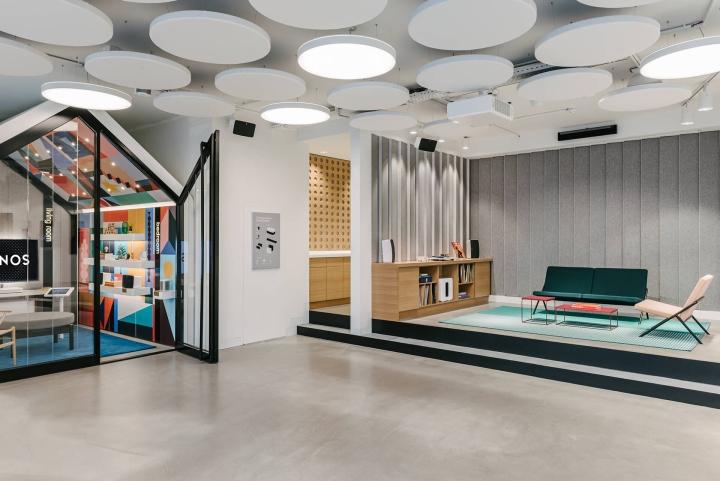 sonos concept store berlin germany. Black Bedroom Furniture Sets. Home Design Ideas
