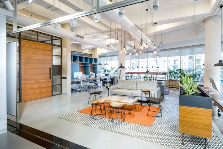 the design office. Praxis Completed The Office Design For Innovation And Center Studio 5B, Located In Mumbai, India. Of This Work-space Responds To