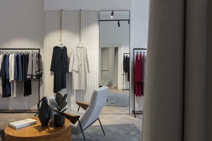 The Fold flagship store by Kinnersley Kent Design, London – UK