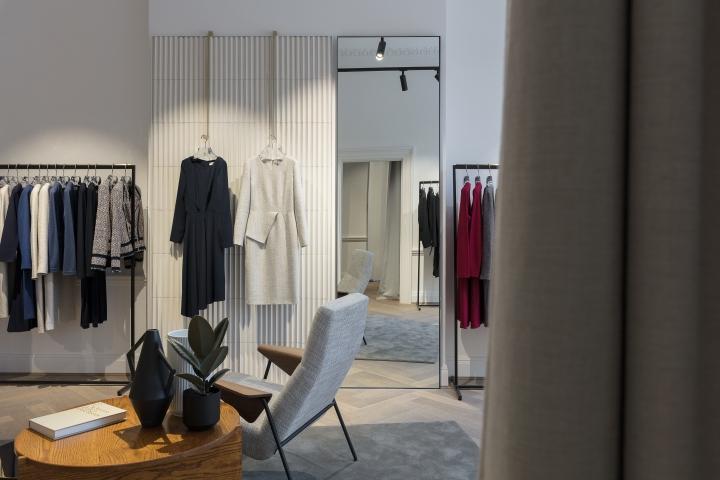 the fold flagship store by kinnersley kent design london uk