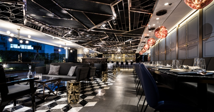 Cozi Lounge By Artta Concept Studio Hong Kong