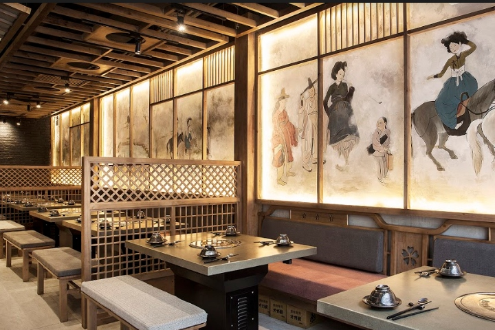 K duck korean restaurant by design plus ho chi minh city