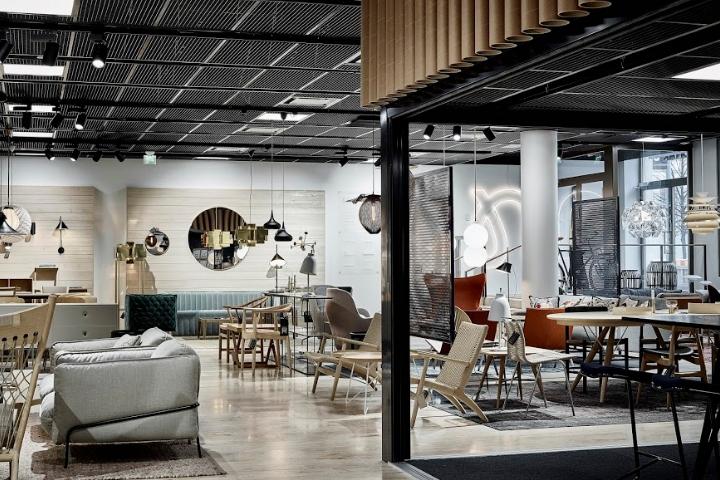 芬兰NOMART家具家具用品店设计
