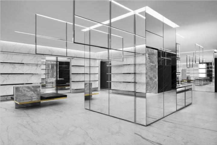 a9db80cf1a630 Saint Laurent flagship store