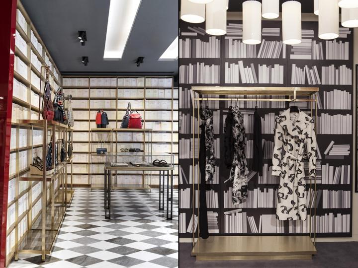 3370dfebb5fde Sonia Rykiel boutique by Vudafieri – Saverino Partners, Madrid – Spain