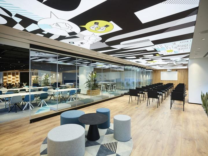 Unbox offices by swiss bureau interior design dubai uae for Office design uae