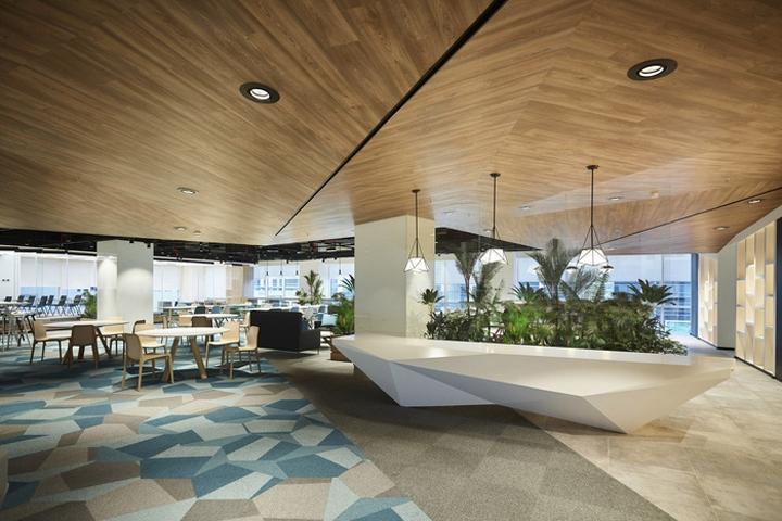 Swiss bureau interior design