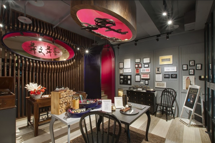 Beijing-based architecture and interior design studio, David Ho Design  Studio, has recently completed a new stationery boutique   Dancing  Calligraphy  in ... 83e92a312003