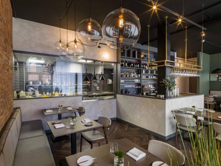 Folium restaurant by Faber Design & Architecture, Birmingham