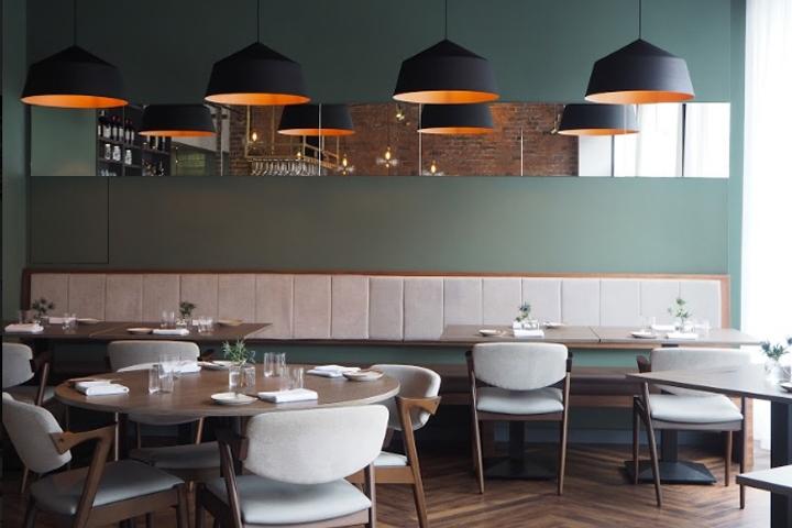 Folium restaurant by faber design architecture