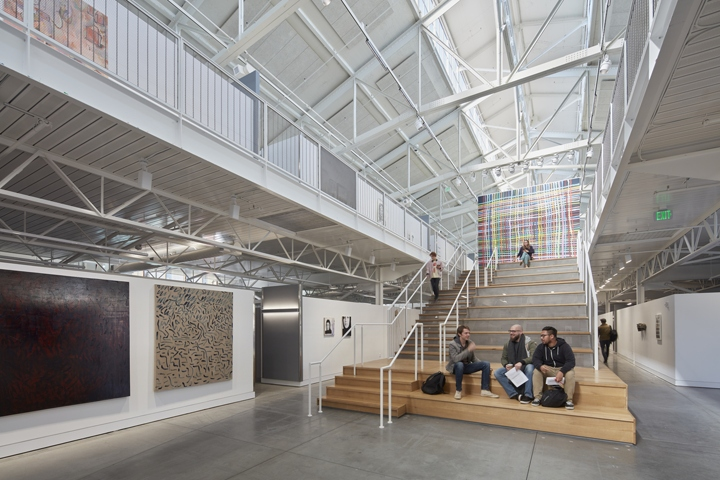 LMSA Transformed The Interior Volume Into A New Arts Campus For SFAI Which  Includes 160+ Studios, Public Exhibition Galleries, Performance  Installation ...