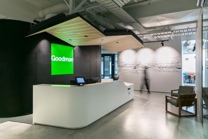 新西兰奥克兰Goodman办公室设计