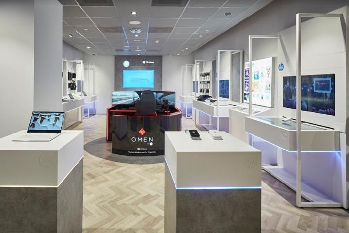 阿姆斯特丹惠普HP数字体验店设计