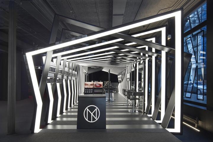 si设计|纽约化妆品牌Il Makiage精品店设计