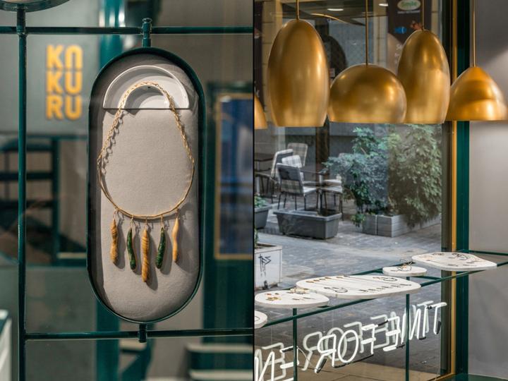 Kakuru jewelry store by Urban Soul Project, Athens – Greece