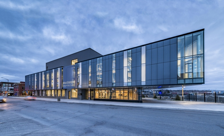 mcewen architecture sudbury canada lga architectural university partners laurentian provincial archdaily arch gundu prize wins ontario aeccafe bob downtown located