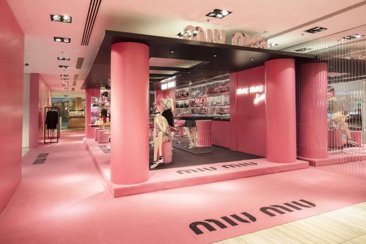 Miu Miu Disco Pop Up Store Hong Kong 187 Retail Design Blog